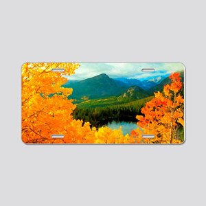 Rocky Mountain National Par Aluminum License Plate