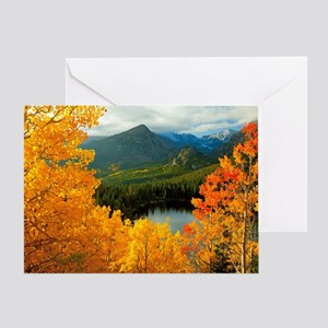 Rocky Mountain National Park Card Greeting Cards