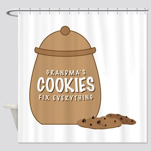 Grandmas Cookies Shower Curtain