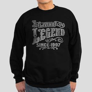 Living Legend Since 1997 Sweatshirt (dark)