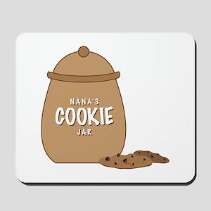 Nanas Cookie Jar Mousepad