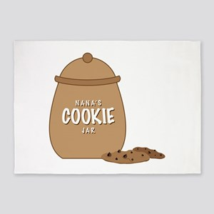 Nanas Cookie Jar 5'x7'Area Rug