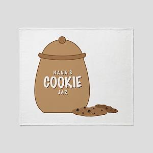 Nanas Cookie Jar Throw Blanket