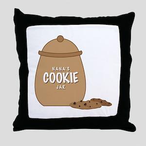 Nanas Cookie Jar Throw Pillow