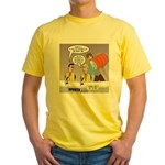 Physicality Overused Yellow T-Shirt
