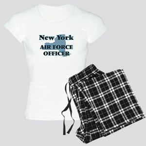 New York Air Force Officer Women's Light Pajamas