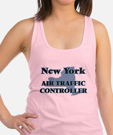 New York Air Traffic Controller Racerback Tank Top