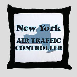 New York Air Traffic Controller Throw Pillow