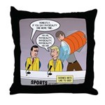 Physicality Overused Throw Pillow