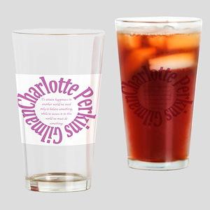 Sociology: Charlotte Perkins Gilman Drinking Glass
