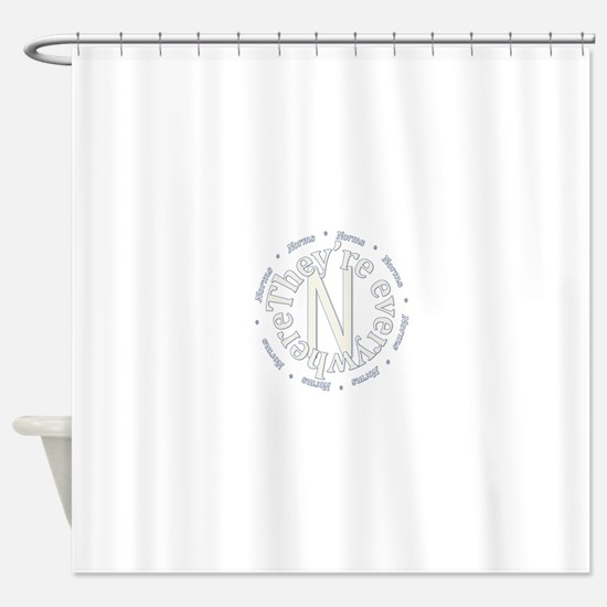 Sociology: Norms Are Everywhere Shower Curtain