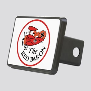 Red Baron Rectangular Hitch Cover