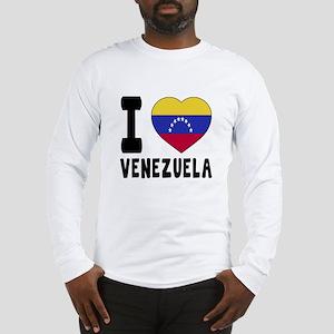 I Love Venezuela Long Sleeve T-Shirt