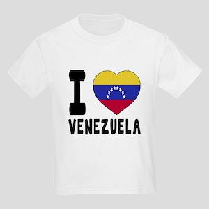 I Love Venezuela Kids Light T-Shirt