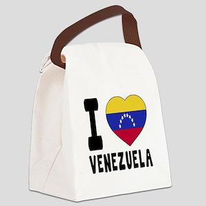 I Love Venezuela Canvas Lunch Bag