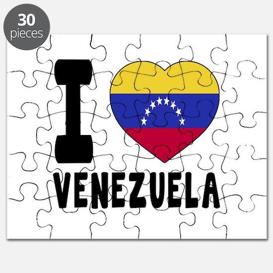 I Love Venezuela Puzzle