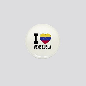 I Love Venezuela Mini Button
