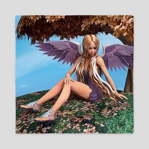Autumn Angel Queen Duvet