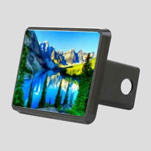 Canadian Rockies Rectangular Hitch Cover