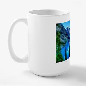 Canadian Rockies Large Mug Mugs