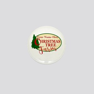 Christmas Tree Farm Mini Button