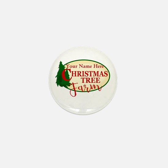 Christmas Tree Farm Mini Button