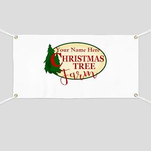 Christmas Tree Farm Banner