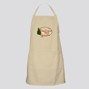 Christmas Tree Farm Light Apron