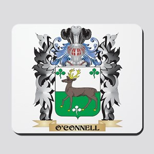 O'Connell Coat of Arms - Family Crest Mousepad