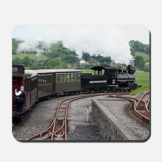 Brecon Mountain Railway, Wales 2 Mousepad