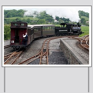 Brecon Mountain Railway, Wales 2 Yard Sign