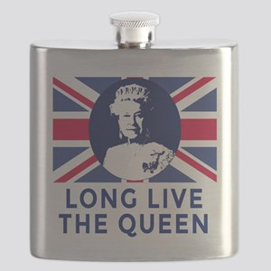 Queen Elizabeth II:  Long Live the Queen Flask