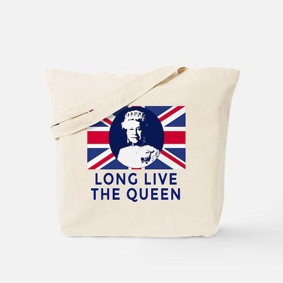 Queen Elizabeth II:  Long Live the Queen Tote Bag
