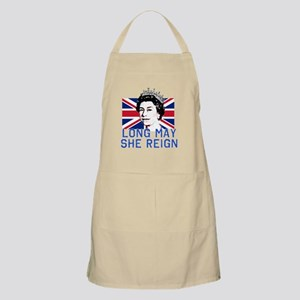 Queen Elizabeth II:  Long May She Reign Apron