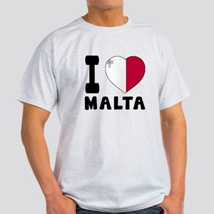 I Love Malta Light T-Shirt
