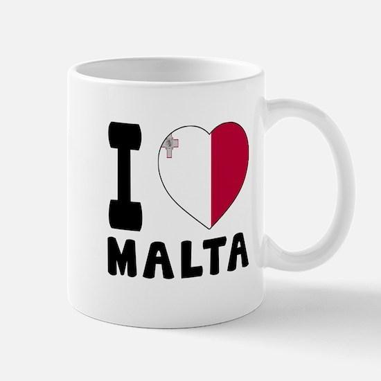 I Love Malta Mug