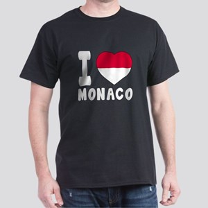 I Love Monaco Dark T-Shirt