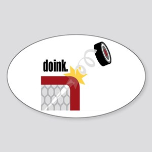 Doink Oval Sticker