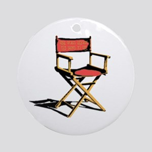 Film Brings Life Ornament (Round)
