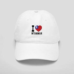 I Love MYANMAR Cap
