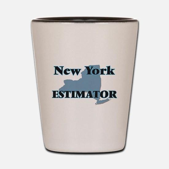 New York Estimator Shot Glass
