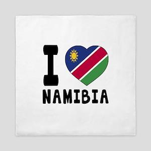 I Love Namibia Queen Duvet