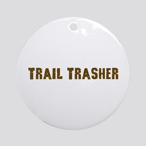 Trail Trasher Offroad gifts Ornament (Round)