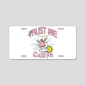 Angelic Caitlyn Personalize Aluminum License Plate