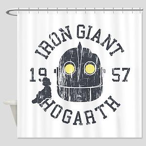 Iron Giant Hogarth 1957 Vintage Shower Curtain