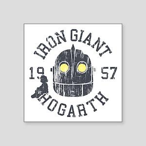 Iron Giant Hogarth 1957 Vintage Sticker