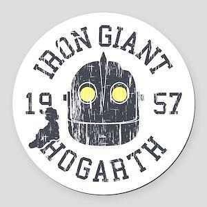 Iron Giant Hogarth 1957 Vintage Round Car Magnet