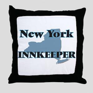 New York Innkeeper Throw Pillow