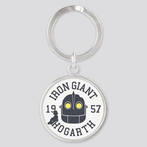 Iron Giant Hogarth 1957 Retro Keychains
