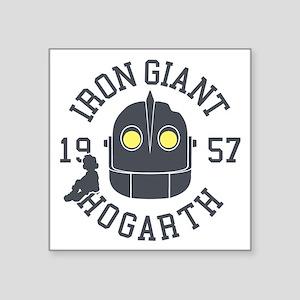 Iron Giant Hogarth 1957 Retro Sticker